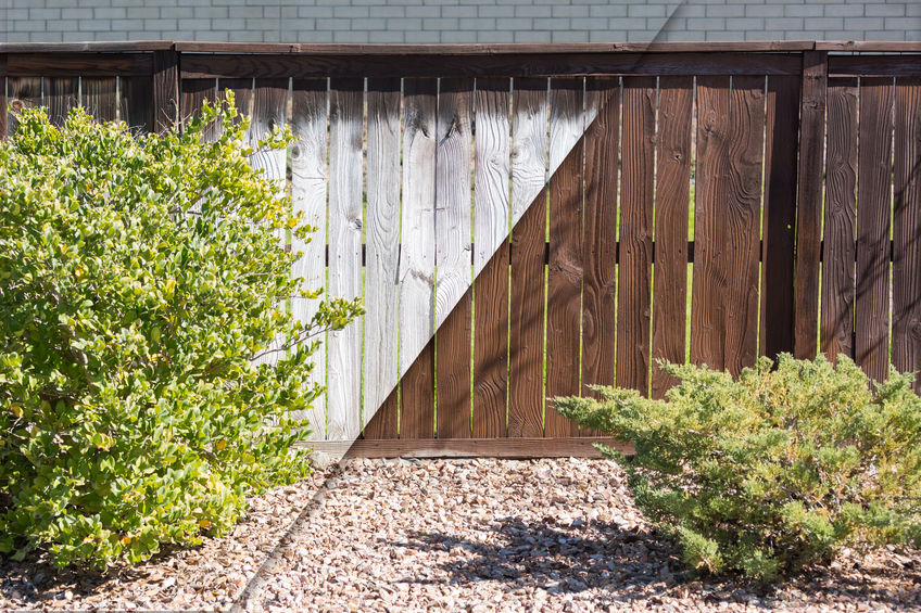Fence Painting and Staining in Sacramento