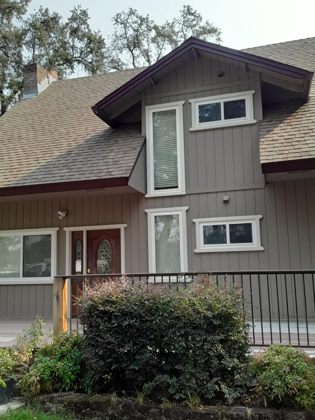 Exterior Grey Residential Paint Job Sacramento